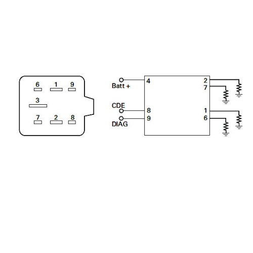 small resolution of 0 133 30 durite 12v glow plug controller 7 pin